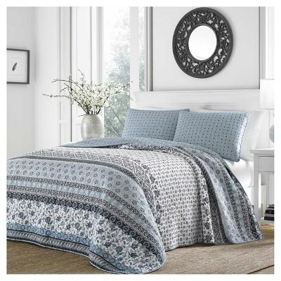 Light Blue Bexley Quilt Set - Stone Cottage®