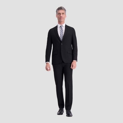 Haggar H26 Slim Fit Premium Stretch Suit Jacket - Black