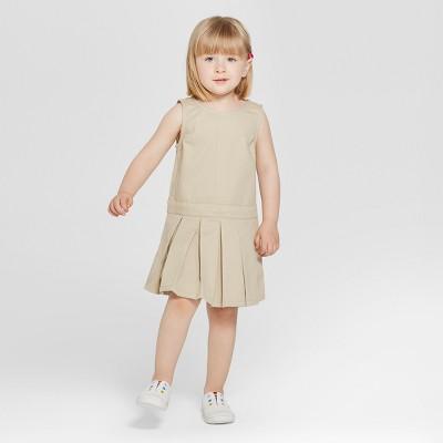 Toddler Girls' Uniform Woven Jumpers - Cat & Jack™