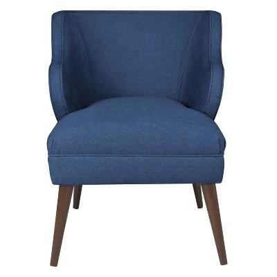 target blue chair yoga poses accent denim skyline furniture