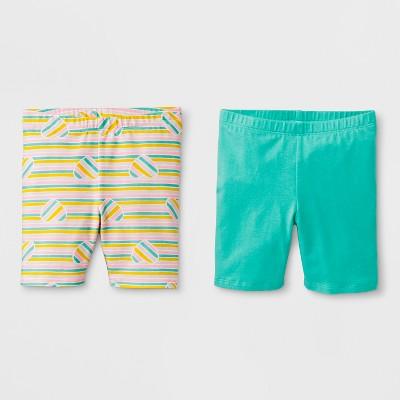 Toddler Girls' Trouser Shorts - Cat & Jack™ Mint Green