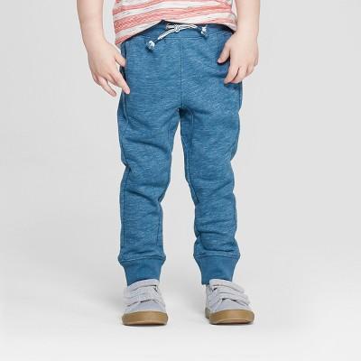 Toddler Boys' Novelty Spacedye Jogger Pants - Cat & Jack™ Blue