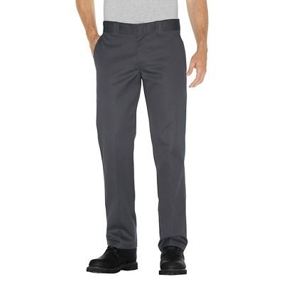 Dickies Men's Slim Straight Fit Twill Pants