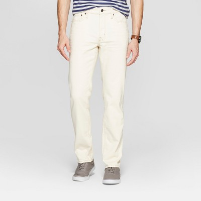 Men's Slim Fit Jeans - Goodfellow & Co™ Natural White