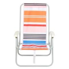 Backpack Beach Chair Target Lumbar Support Office Uk Peach Stipe Evergreen