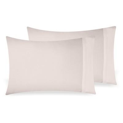 light taupe 2pc king pillowcases pillowcase 100 extra long staple 500 thread count sateen weave 2 piece set california design den