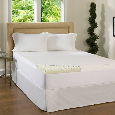 "ComforPedic Loft from Beautyrest 3"" Textured memory foam topper"