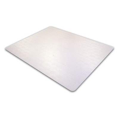 "Advantage mat Chair Mat for Low Pile Carpets Phthalate-Free PVC Rectangular 48""x60"" - Cleartex"