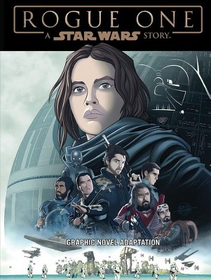 Star Wars Rogue One Graphic Novel Adaptation -  by Alessandro Ferrari (Paperback)