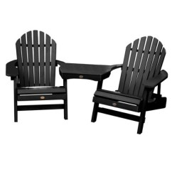 Tete A Chair Outdoor Mid Century Chairs Uk Hamilton Folding Reclining Adirondack 2pk With Table Highwood