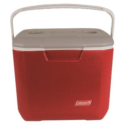 Coleman® 30qt Bail Handle Cooler - Red