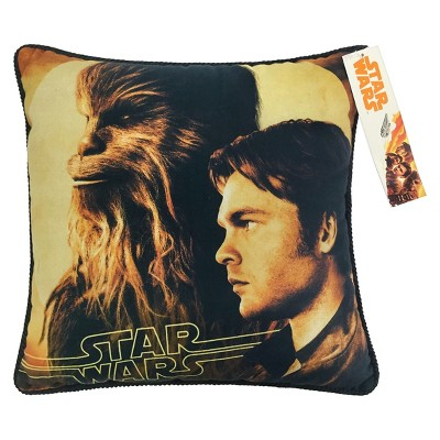 "Solo: A Star Wars Story 15""x15"" Kessel Throw Pillow Yellow"