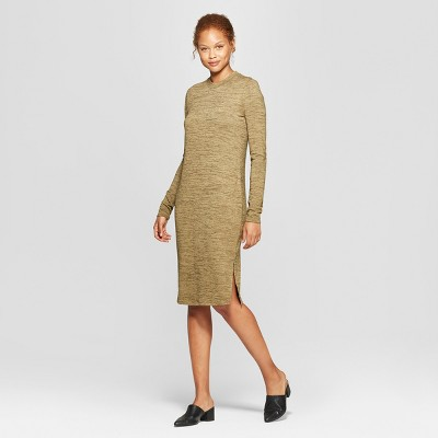 Women's Long Sleeve Knit Midi Dress - Prologue™