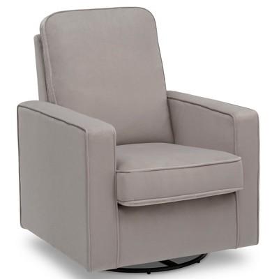 delta avery nursery glider chair grey p chairs children landry swivel rocker target