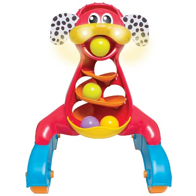 Playgro Step by Step Music and Lights Puppy Walker - Red