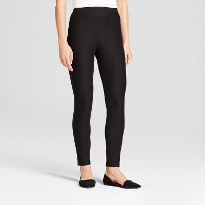 Women's High Waist Jeggings - A New Day™ Black