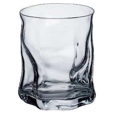Bormioli Rocco Sorgente Double Old Fashioned Glass 14.25oz Set of 4