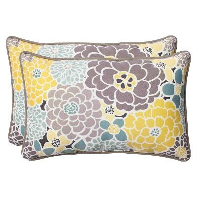 pillow perfect 2 piece outdoor lumbar pillows lois