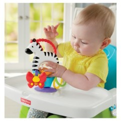 Zebra High Chair Storing Banquet Covers Fisher Price Activity Toy Target 3 More