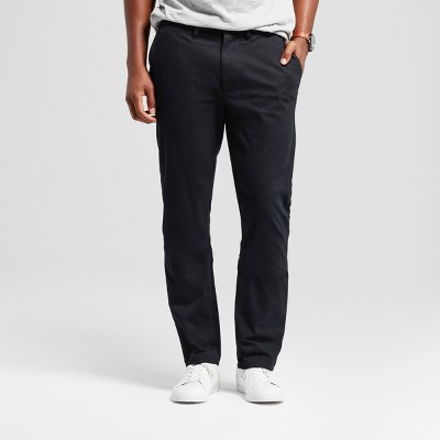 Men's Athletic Fit Hennepin Chino Pants - Goodfellow & Co™ Black