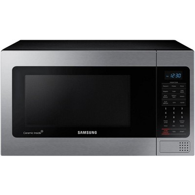 samsung mg11h2020ct 1 1 cu ft countertop microwave oven manufacturer refurbished