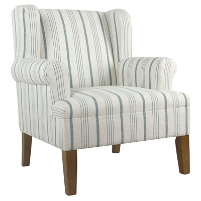 Emerson Rolled Arm Accent Chair - Homepop