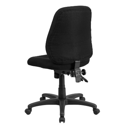 ergonomic chair back angle cover rentals louisville ky multi functional swivel task black flash furniture 1 more