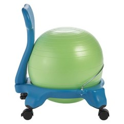 Ball Chair For Kids Red Kitchen Table Chairs Gaiam Balance Target