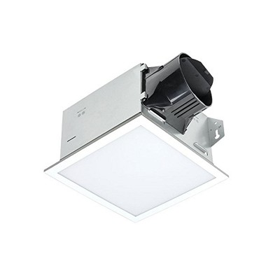 Delta Electronics Itg100eled Breezintegrity 100 Cfm Bathroom Exhaust Fan Edge Lit Dimmable Led Light White Target