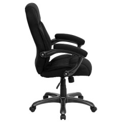Microfiber Office Chair The Best In World Contemporary Executive Swivel Black Flash Furniture Target