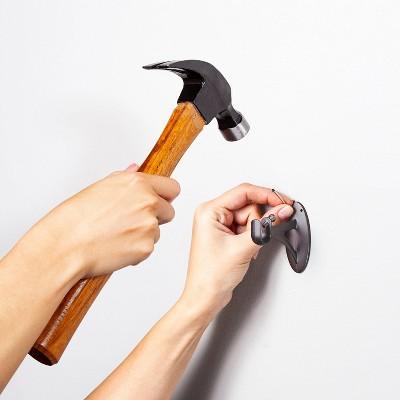 no nail curtain rods target