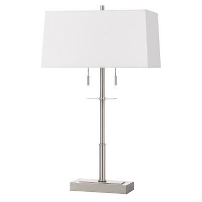 60W X 2 Norwich Metal Table Lamp With Fabric Shade (Lamp Only) - Cal Lighting