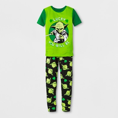 Boys' Star Wars 2pc Pajama Set - Green