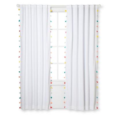 Tassel Blackout Curtain Panel - Pillowfort™