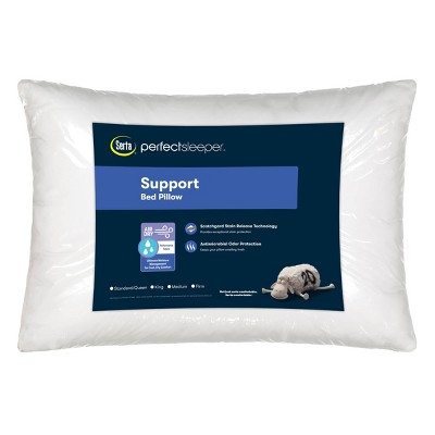 king air dry firm bed pillow serta