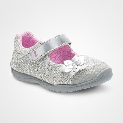 Toddler Girls' Surprize by Stride Rite® Katelyn Mary Jane Shoes - Silver