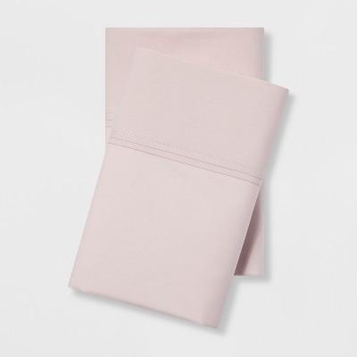 Organic Cotton 300 Thread Count Solid Pillowcase Set - Threshold™