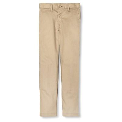 Dickies® Boys' Slim Fit Flat Front Pants