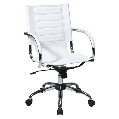 desk chairs white extra large folding chair uk trinidad office star target