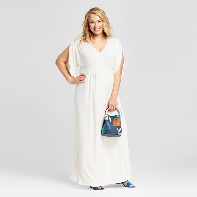 Maternity Plus Size Kimono Sleeve Dress - Isabel Maternity by Ingrid & Isabel™