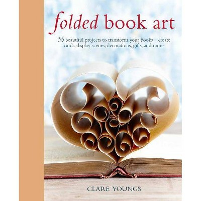 folded book art by