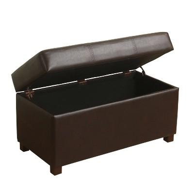 essex basic storage bench