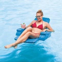Pool Chair Floats Target Wedding Covers Bristol Trc Recreation Super Soft Baja Swimming Folding Foam Lounge Float