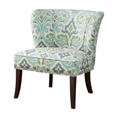 accent chair blue small fold up table and chairs green target
