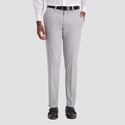 Haggar H26 Men's Slim Fit No Iron Stretch Trousers