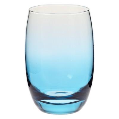 Krosno 12oz Ombre Short Tumbler Blue