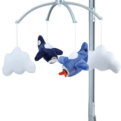 Carter's Take Flight Airplane Nursery Crib Musical Mobile