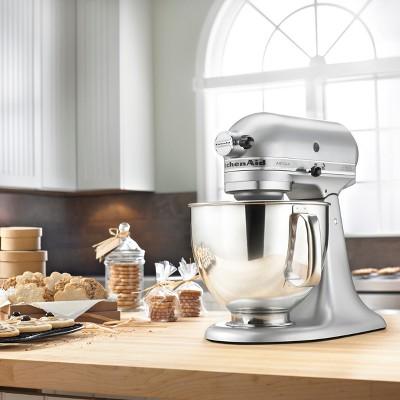 kitchen aid silver slow cooker kitchenaid artisan series 5qt tilt head stand mixer 2 more
