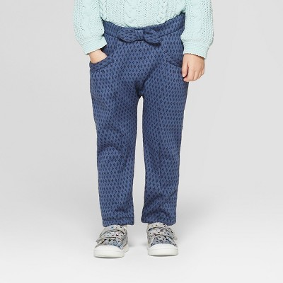 Toddler Girls' Knit Jogger Pants - Genuine Kids® from OshKosh Navy