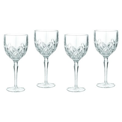 Marquis by Waterford Brookside Crystal Goblets 11oz - Set of 4